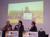 Lluis Plana, delegat de Joventut; Mn. Pepe Chisvert, delegat d'Ensenyament i Rector de Sant Julià de Lòria i Sr. Carles Álvarez, Conseller Major del Comú de Sant Julià de Lòria