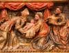 Fragmento del retablo de la Virgen del Rosario de Ponts (siglo XVI