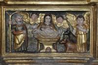 fragment del retaule d'Encamp –Principat d'Andorra- del segle XVII