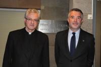 El Copríncep Episcopal rep el Síndic d'Andorra al Palau Episcopal