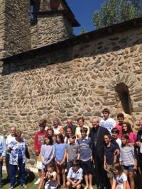 Visita pastoral a la parròquia de St. Andreu de Vilallobent (Cerdanya)