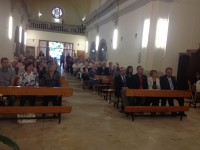 Festa del Sant Crist del Bon Consol a La Portella i inauguració obres a l'interior del temple