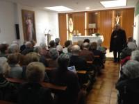 Visita al Cardenal Ricard M. Carles i a la Residència d'ancians de St. Domènec de Balaguer