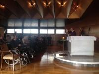 Celebració del Nadal a la Residència d'ancians Clara Rabassa d'Andorra la Vella