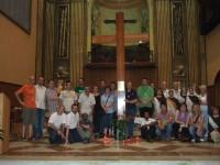 La Creu de la JMJ a Balaguer