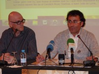 Lluís Plana, delegat de joventut, i Mn. Pepe Chisvert, delegat d'ensenyament