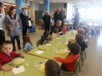 visita menjador escola francesa