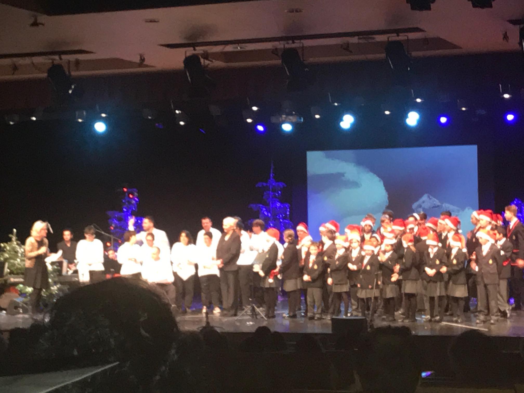 El Cor dels Petits Cantors d'Andorra amb l'Escola Especialitzada N. Sra. de Meritxell