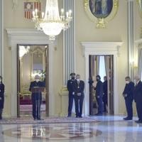 Ceremonia de presentación de las Cartas Credenciales de 25 Embajadores