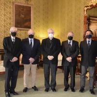 Visita de la renovada Junta del Comité Olímpico Andorrano