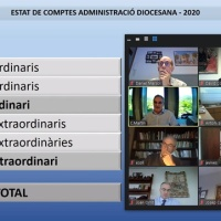 Reunió ordinària del Consell diocesà d'Economia