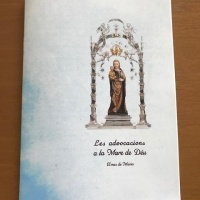 Libro sobre el Mes de María de Sta. María de Balaguer