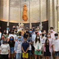 Confirmaciones en la Parroquia de la Virgen Asunta de Agramunt