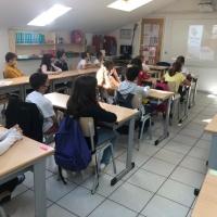 Acció a l'Escola Janer de Càritas parroquial de St. Julià de Lòria
