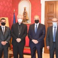 El Copríncipe Episcopal recibe el Grupo Parlamentario Terceravia + Unió Laurediana + Independents