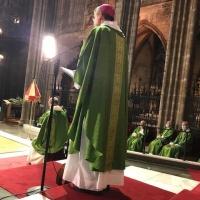 Funeral por el padre del obispo auxiliar de Barcelona Mons. Vadell