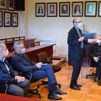 Felicitación de la Curia al Arzobispo Joan-Enric Vives