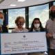 Cáritas Andorra recibe el apoyo económico de la parroquia de Encamp