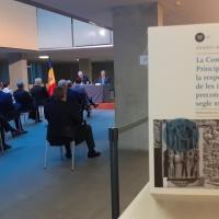 Es presenta al Consell General d'Andorra el llibre de Mn. Nemesi Marqués sobre el procés constituent