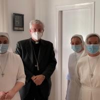 Visita a las Misioneras del Inmaculado Corazón de María en La Pobla de Segur