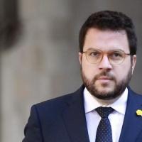 Carta de felicitació del Copríncep al M.H. Sr. Pere Aragonès