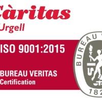 Càritas Diocesana d'Urgell certifica su sistema de gestión mediante la ISO9001:2015